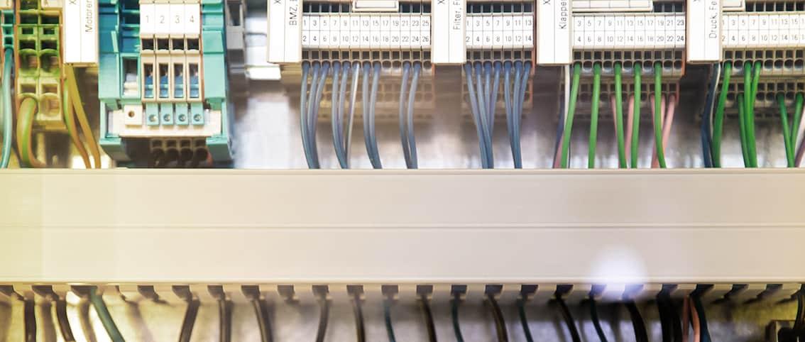 Stromverteilerkasten